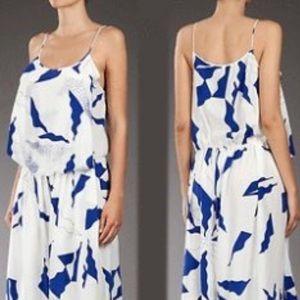 Diane von Furstenberg silk jhumpa romper 14 (T)